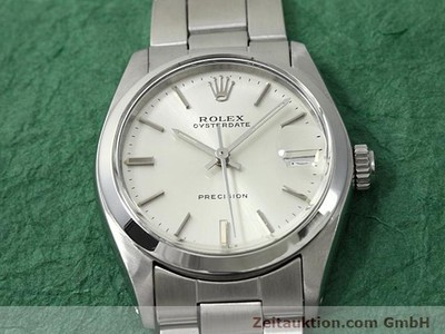 ROLEX PRECISION STEEL MANUAL WINDING KAL. 1225 [140618]