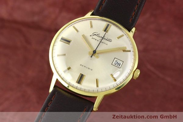 GLASHÜTTE SPEZIMATIC GOLD-PLATED AUTOMATIC KAL. 75  [140623]