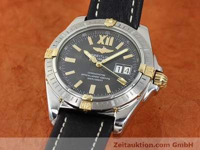 BREITLING GALACTIC STEEL / GOLD AUTOMATIC KAL. ETA 2896 [140625]