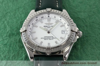 BREITLING WINGS STEEL AUTOMATIC KAL. ETA 2892-2 [140632]