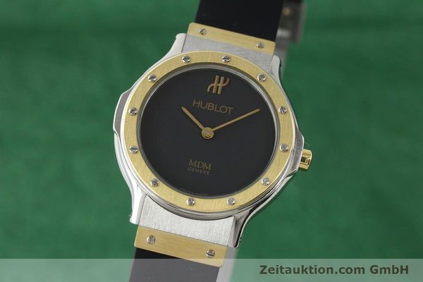 HUBLOT MDM GILT STEEL QUARTZ [140639]