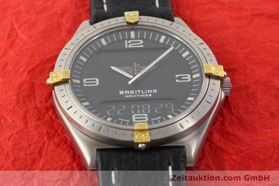 BREITLING AEROSPACE TITANE / OR QUARTZ [140648]