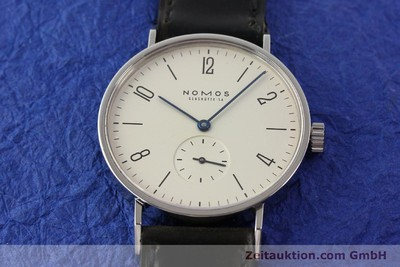 NOMOS TANGENTE STEEL MANUAL WINDING [140660]