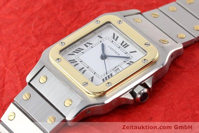 CARTIER SANTOS ACIER / OR AUTOMATIQUE [140683]