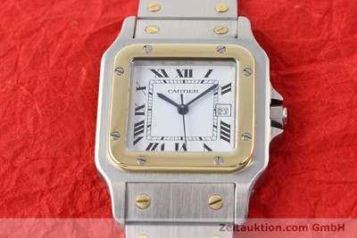CARTIER SANTOS STEEL / GOLD AUTOMATIC [140683]