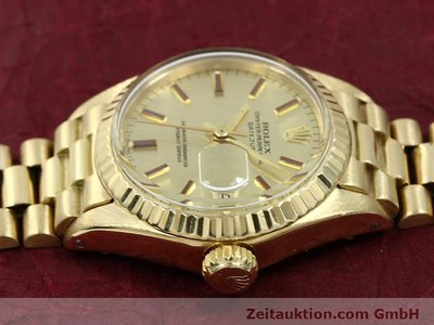 ROLEX LADY DATEJUST OR 18 CT AUTOMATIQUE KAL. 2030 [140685]