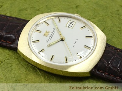 IWC 18 CT GOLD AUTOMATIC KAL. C.8541 [140689]