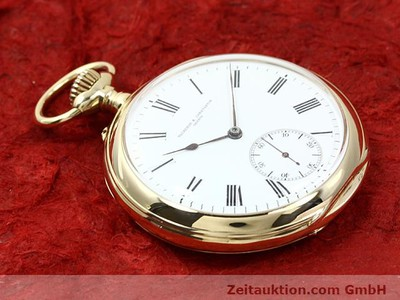 VACHERON & CONSTANTIN TASCHENUHR 18 CT GOLD MANUAL WINDING [140690]