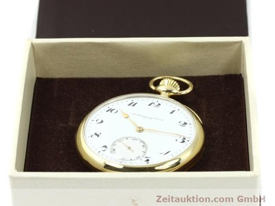 VACHERON & CONSTANTIN TASCHENUHR 18 CT GOLD MANUAL WINDING [140692]