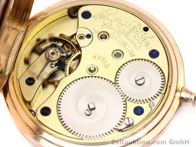A. LANGE & SÖHNE ALS TASCHENUHR 18 CT RED GOLD MANUAL WINDING [140694]