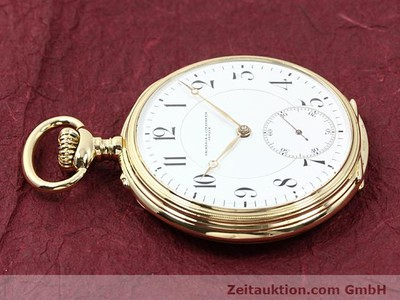 VACHERON & CONSTANTIN TASCHENUHR 18 CT GOLD MANUAL WINDING [140695]