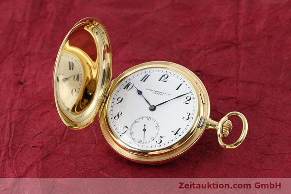 PATEK PHILIPPE TASCHENUHR 18 CT GOLD MANUAL WINDING  [140696]