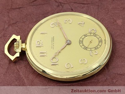 ULYSSE NARDIN 18 CT GOLD MANUAL WINDING [140697]