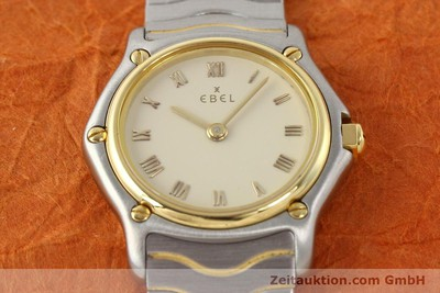 EBEL CLASSIC WAVE ACIER / OR QUARTZ [140699]