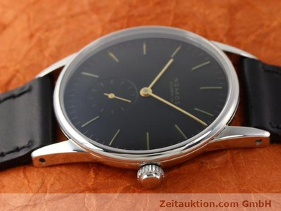 NOMOS ORION STEEL MANUAL WINDING KAL. ETA 7001 [140700]