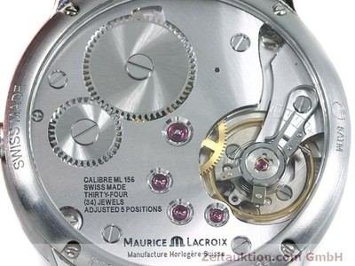 MAURICE LACROIX MASTERPIECE STEEL MANUAL WINDING KAL. ML 156 [140702]