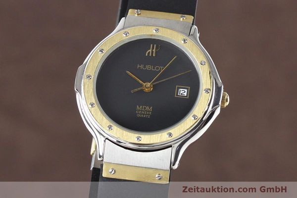 HUBLOT MDM GILT STEEL QUARTZ [140710]