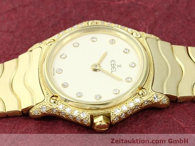 EBEL CLASSIC WAVE OR 18 CT QUARTZ KAL. 157 [140711]