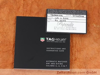 TAG HEUER AQUARACER STEEL AUTOMATIC KAL. 5 [140720]