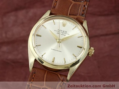 ROLEX PRECISION 9 CT GOLD AUTOMATIC KAL. 1520 [140732]