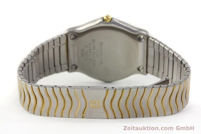 EBEL CLASSIC WAVE STEEL / GOLD QUARTZ [140739]