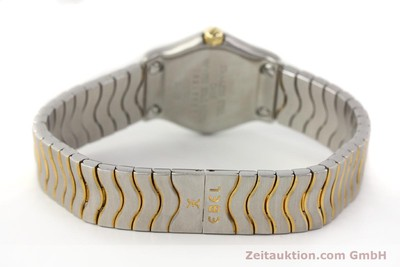 EBEL CLASSIC WAVE STEEL / GOLD QUARTZ KAL. 157 [140741]