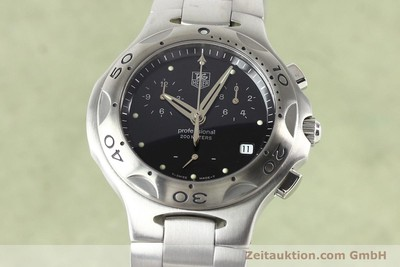 TAG HEUER PROFESSIONAL STEEL QUARTZ [140755]