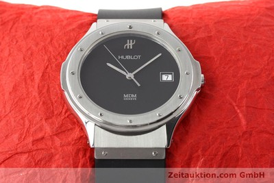 HUBLOT MDM STEEL QUARTZ [140757]
