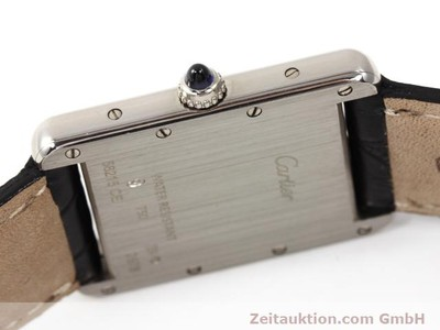 CARTIER TANK 18 CT WHITE GOLD QUARTZ KAL. 688 [140764]