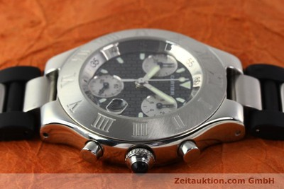 CARTIER CHRONOSCAPH 21 STEEL QUARTZ [140769]
