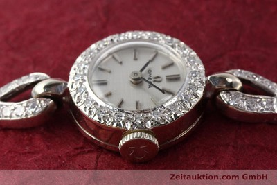 OMEGA 14 CT WHITE GOLD MANUAL WINDING KAL. 484 [140770]