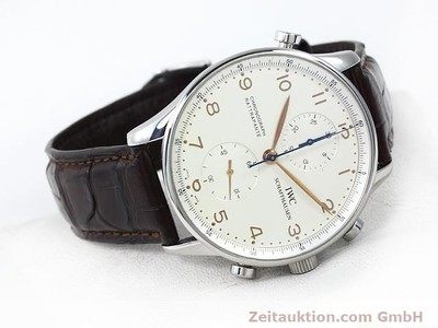 IWC PORTUGIESER STEEL MANUAL WINDING KAL. C.76240 [140776]