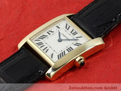 CARTIER TANK ORO 18 CT QUARZO KAL. 157.06 [140820]