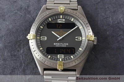 BREITLING AEROSPACE TITAN / GOLD QUARZ [140821]