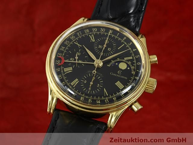 CHRONOSWISS GOLD-PLATED AUTOMATIC KAL. VAL 7750  [140824]