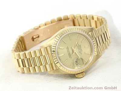 ROLEX LADY DATEJUST OR 18 CT AUTOMATIQUE KAL. 2135 [140842]