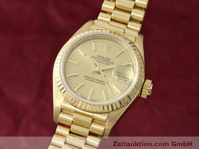 ROLEX LADY DATEJUST 18 CT GOLD AUTOMATIC KAL. 2135 [140842]