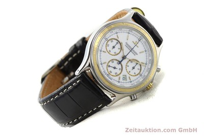 JAEGER LE COULTRE HERAION CHRONOGRAPH STEEL / GOLD QUARTZ KAL. 630 [140846]