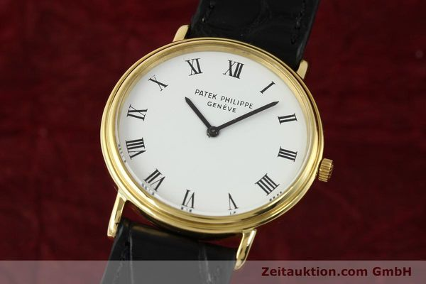 PATEK PHILIPPE CALATRAVA 18 CT GOLD AUTOMATIC KAL. 28-255  [140847]