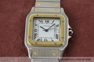 CARTIER SANTOS STEEL / GOLD AUTOMATIC [140852]