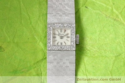 CHOPARD LADY 18K WEISS GOLD DIAMANTEN DAMENUHR BRILLANTEN VP: 19750,- EURO [140855]