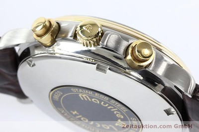 MAURICE LACROIX MASTERPIECE STEEL / GOLD AUTOMATIC KAL. VAL 7751 [140856]