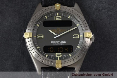 BREITLING AEROSPACE TITANE / OR QUARTZ KAL. ETA 988332 [140860]