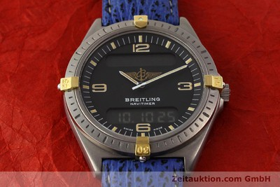 BREITLING AEROSPACE TITANE / OR QUARTZ KAL. ETA 988332 [140863]