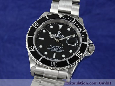 ROLEX SUBMARINER STEEL AUTOMATIC KAL. 3135 [140878]