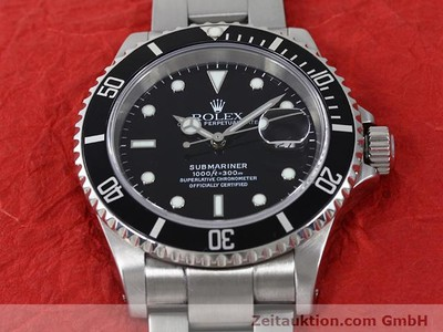 ROLEX SUBMARINER STEEL AUTOMATIC KAL. 3135 [140879]