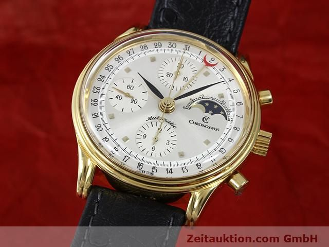 CHRONOSWISS LUNAR GOLD-PLATED AUTOMATIC KAL. ETA 7750  [140880]