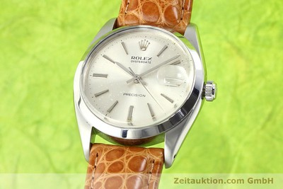 ROLEX PRECISION STEEL MANUAL WINDING KAL. 1215 [140887]