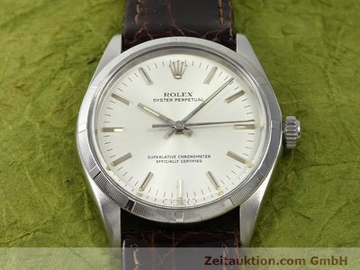 Rolex Oyster Perpetual Stahl Automatik Kal. 1570 [140889]