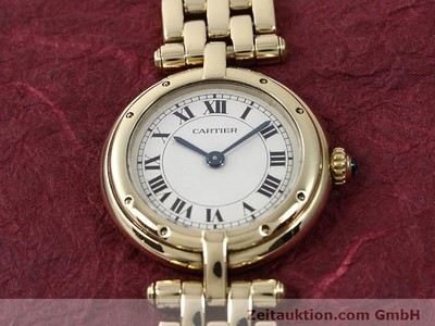 CARTIER PANTHERE ORO 18 CT QUARZO KAL. 157 [140892]